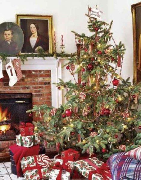 Decoración de arboles de navidad
