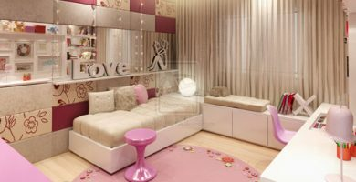 Decoración de cuartos infantiles de niña