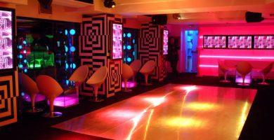 Decoración de discotecas