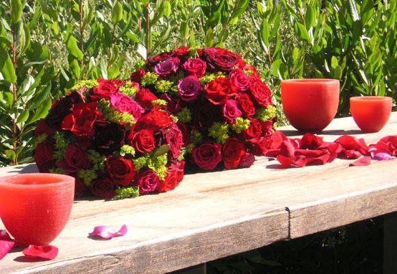 Decoración de flores