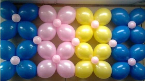 Decoración de globos para fiestas