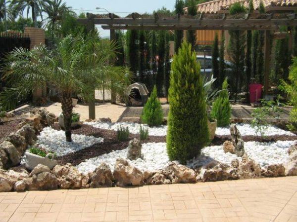 Decoración de jardines fotos