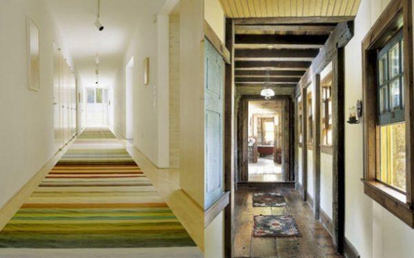 Decoración de pasillos largos