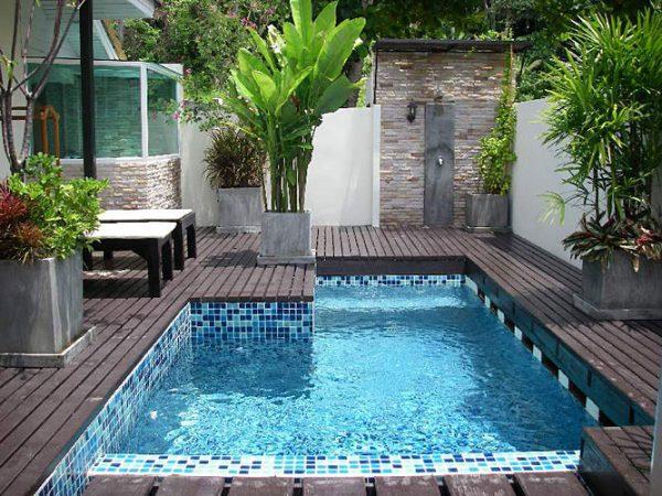 decoracin de piscinas y jardines - Piscinas Jardin