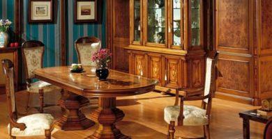 Decoración de salones clásicos
