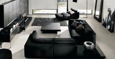 Decoración de salones modernos fotos