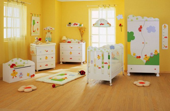 Decoracion de cuartos para bebes