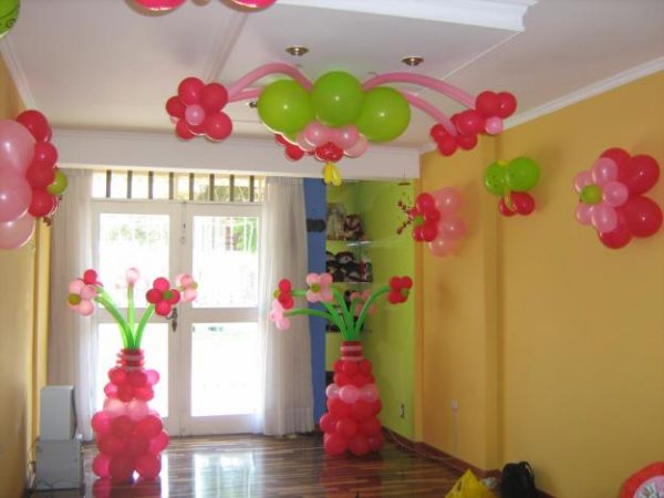 Decoracion de fiestas con globos