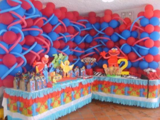 Decoracion de fiestas infantiles con globos