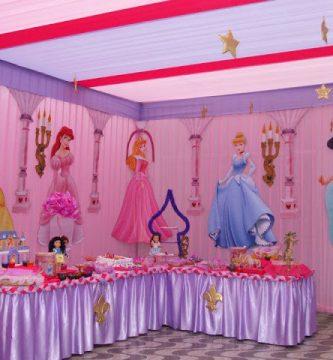 Decoracion de fiestas infantiles de princesas