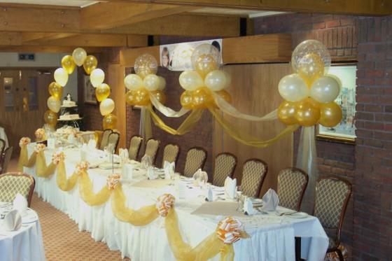 Decoracion de globos para bodas