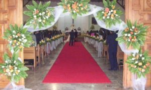 Decoracion de iglesias para bodas