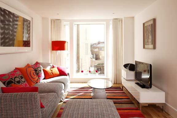 Decoracion de interiores de apartamento