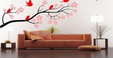Decoracion de paredes con pintura