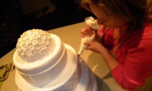Decoracion de pasteles de boda