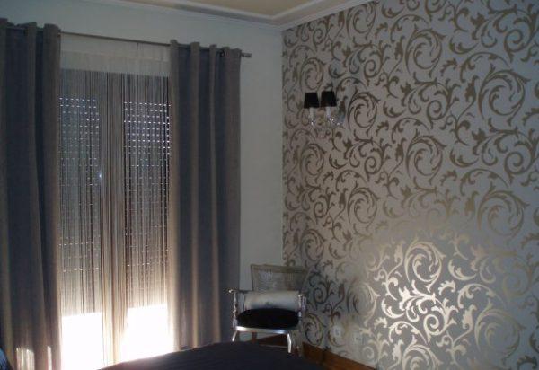 Papel de decoración para paredes