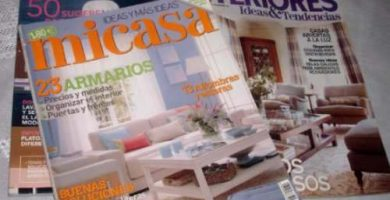 Revista de decoración de interiores