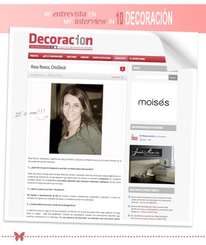 Revistas de decoración on line