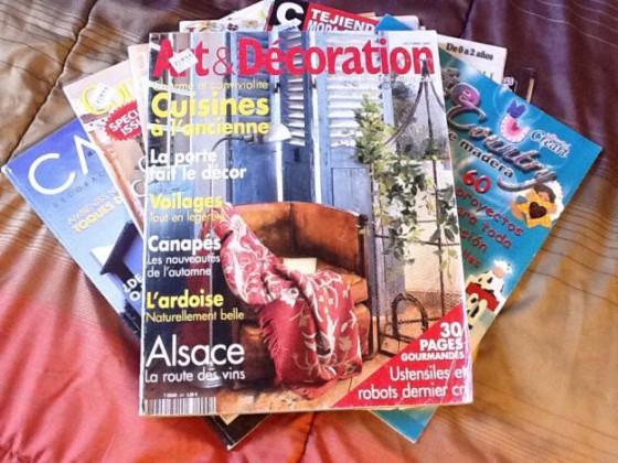 Revistas de decoración rustica