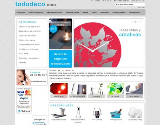 Tiendas online de decoracion