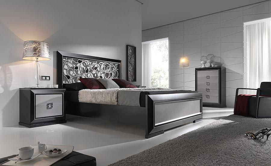 Decoraci n de dormitorios de color plata - Dormitorios juveniles para hombres ...
