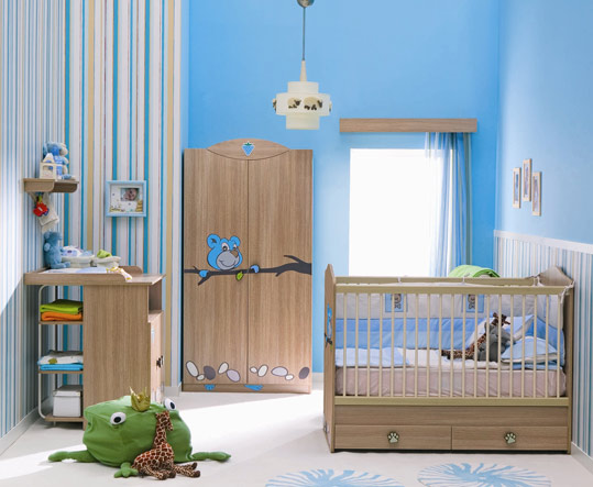 Cuartos de bebe decoraci n - Imagenes de dormitorios de bebes ...