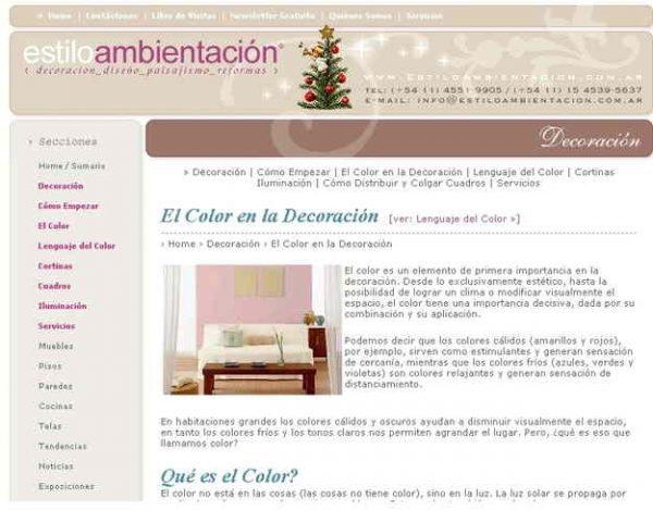 Cursos de decoraci n gratis for Paginas de decoracion de interiores gratis