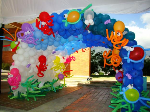 Cursos de decoracion con globos for Globos decoracion fiestas