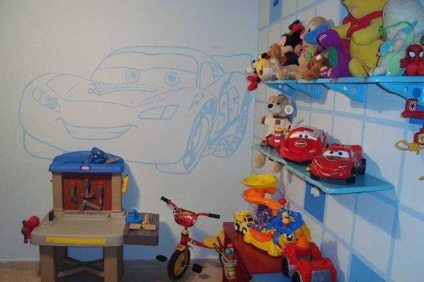 Decoraci n de dormitorios infantiles for Recamaras infantiles economicas
