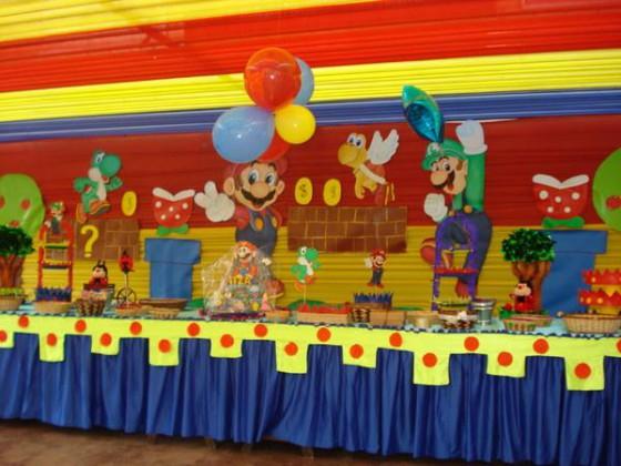 Decoraci n de fiestas infantiles for Decoracion wonder woman