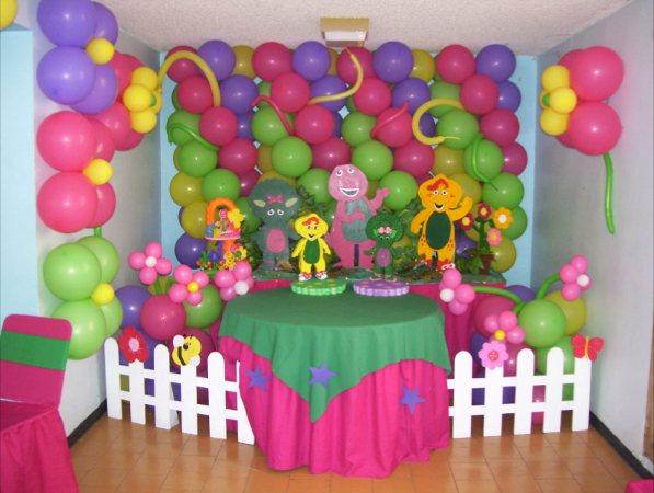 Decoraci n de fiestas infantiles con globos for Imagenes de decoracion de fiestas infantiles