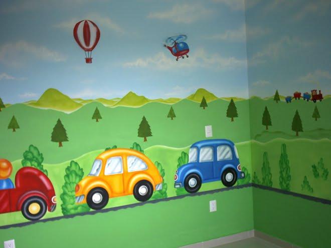 Decoraci n de paredes infantiles - Decoracion habitacion infantil paredes ...