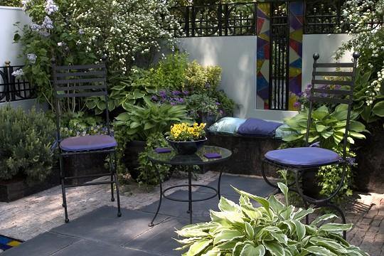 Decoraci n de terrazas peque as - Decoracion de terrazas pequenas exteriores ...