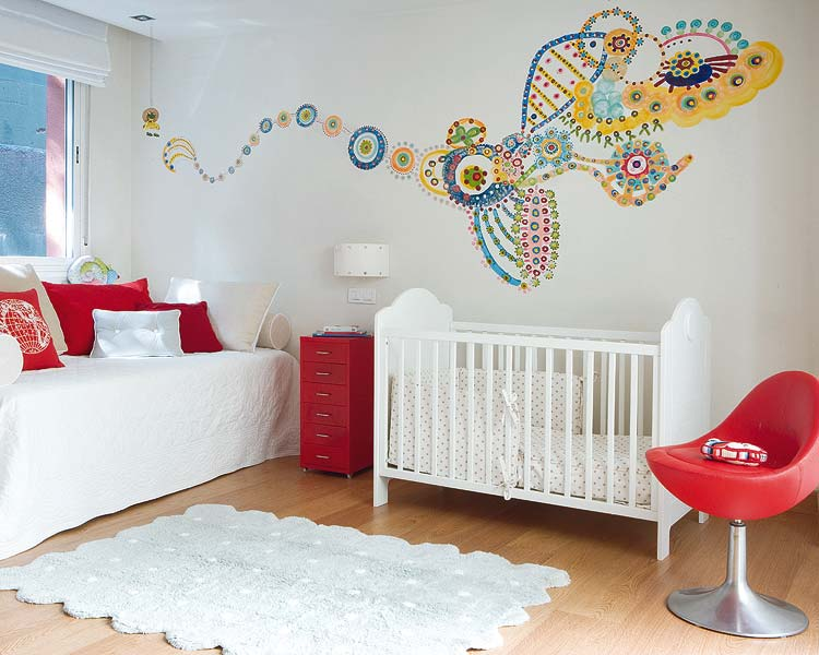 Decoracion cuartos de bebe for Decoracion para bebes