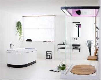 Decoracion de cuartos de bano utilizando complementos y for Cocinas y banos decoracion