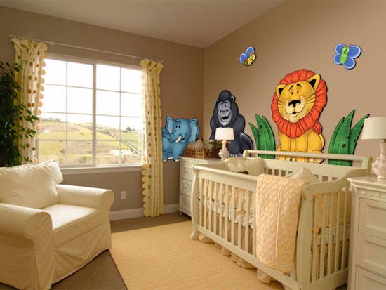 Decoracion de cuartos de bebe - Habitaciones bebe decoracion ...