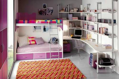 Decoraci n de cuartos juveniles - Decoracion habitaciones juveniles nina ...
