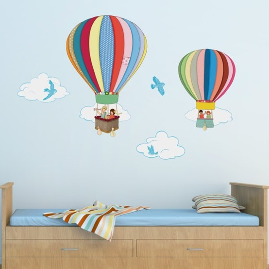 Decoracion de cuartos para bebe - Decoracion paredes habitacion infantil ...