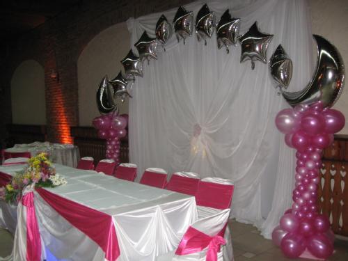 Fotos de decoraci n para 15 a os con globos imagui for Decoracion de globos para xv anos
