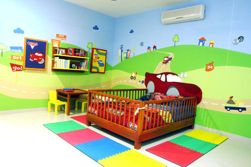 Decoracion de recamaras para ninos y adolescentes - Decoracion pared ninos ...