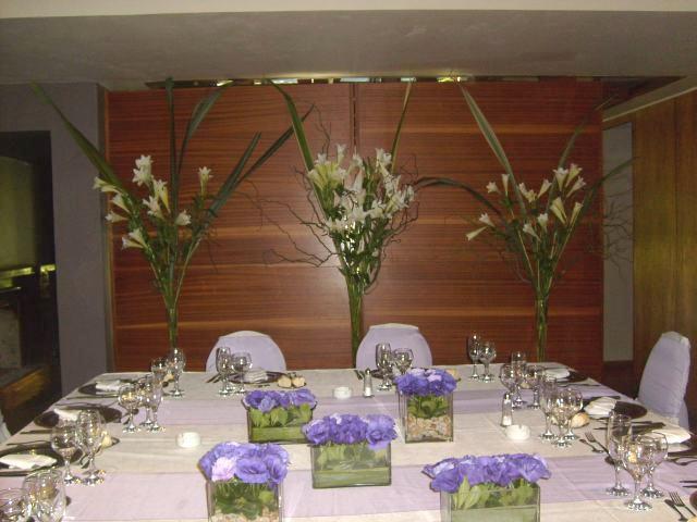 Decoracion de salon para boda - Centros de mesa modernos para casa ...