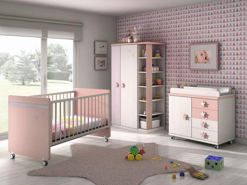 espaa tnicas de color rosa de satn baratos with decoracion habitacion de bebe nia