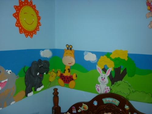 Decoracion para cuartos de bebes - Decorar dibujos infantiles ...