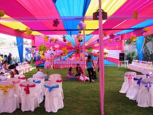 Decoracion para fiestas de cumplea os for Decoracion jardin fiesta cumpleanos