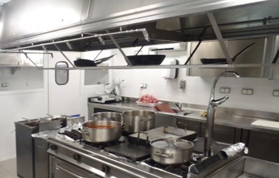 Equipamiento de cocinas industriales for Cocinas industriales modernas