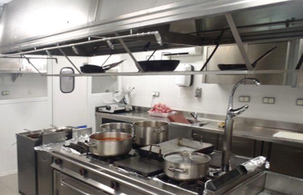 Equipamiento de cocinas industriales for Cocinas pequenas industriales