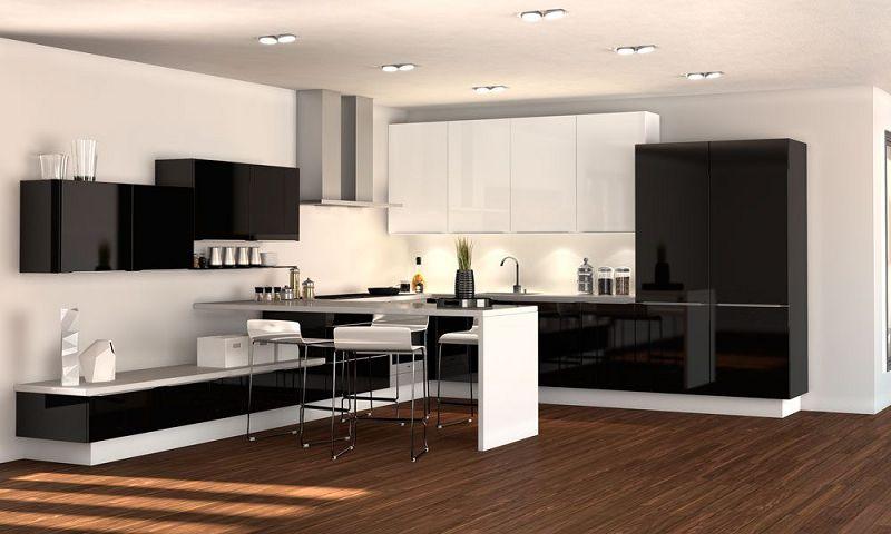 Decoracion de interiores cocinas for Ejemplos cocinas pequenas
