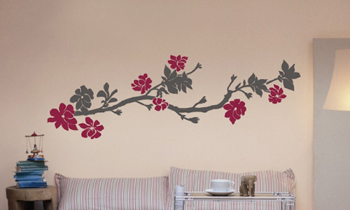 Plantillas de decoraci n para paredes for Decoracion en madera para paredes