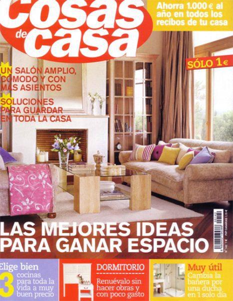 Revista cosas de casa decoraci n for Revistas de decoracion de casas