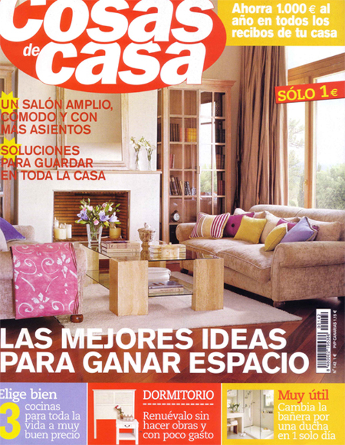 Revista cosas de casa decoraci n for Cosas de casa decoracion catalogo